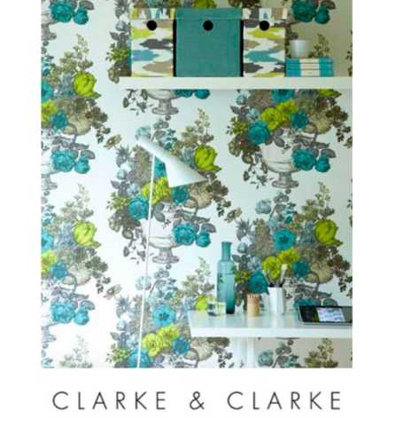 Clarke & Clarke wallcoverings