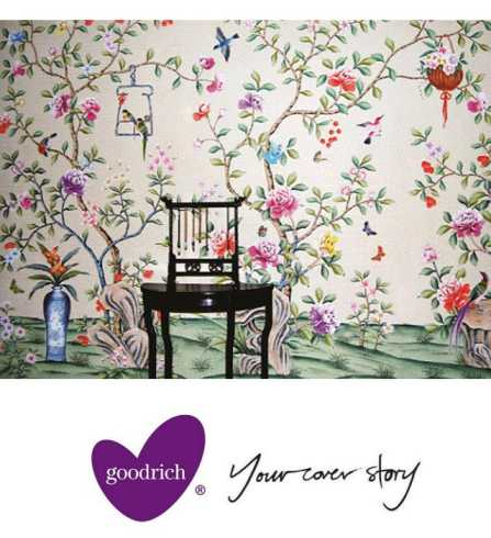 Goodrich wallcoverings